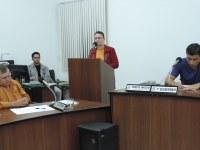 Alberto Abich-PP assume como vereador suplente e representantes do Hospital da Vila Paraíso usam a tribuna popular.