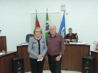 Câmara recebe a visita da Deputada Estadual Zilá Breitenbach do PSDB